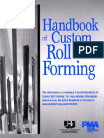 Handbook Custom Roll Forming
