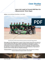 Validation of Suspension Link Loads for Formula SAE Race Car
