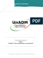 Unidad 2. Etica Profesional y Empresarial_Contenido Nuclear