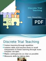 discrete trial presentation