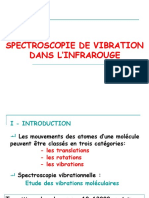spectroscopie vibrationnelle dans l'Infrarouge
