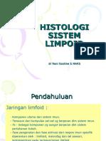 Histologi Sistem Limpoid 2010