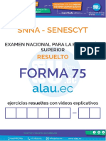Forma Alauec Examen SENESCYT