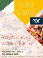 Estudo de Caso em uma Pizzaria - Planejamento e Gestão de Processos Produtivos