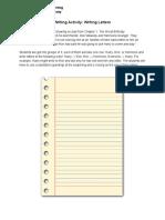 lesson1 worksheet 3 - writingletters