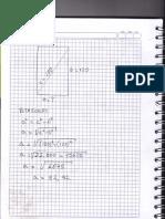 ejercicio teorema de pitagoras