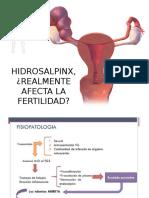 HIDROSALPINX / FERTILIDAD