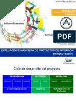 Presentación de Evaluación de Proyectos
