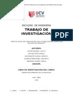 IMPACTO SOCIAL DEL TREN ELÉCTRICO EN LA POBLACIÓN DEL DISTRITO DE SAN JUAN DE LURIGANCHO