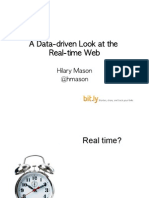 Data-Driven Look at the Real-Time Web Ecosystem