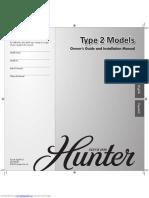 20168 Hunter Fan