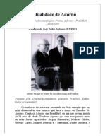 KLUGE, Alexander_A Atualidade de Adorno