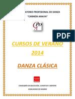 Danza Clasica Verano 2014 (1)