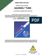 AQUISEL Tubos Instrucciones-English