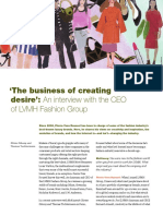 The Business of Creating Desire