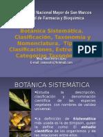 11 Botánica sistemática