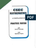CSEC Mathematics 10PracticeTests