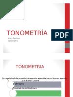 TONOMETRIA Y GONIOSCOPIA !!!.Ppsx