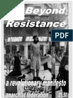 Beyond Resistance - A Revolutionary Manifesto