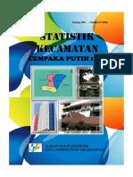 Statistik Kecamatan Cempaka Putih 2015
