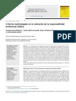 Criterios Medicolegales en La Valoración de La Responsabilidad
