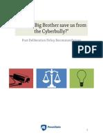 post deliberation report