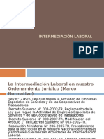 Intermediación Laboral