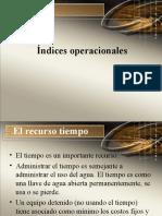 IndicesOperacionales
