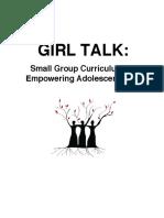 girl talk group curriculum