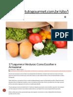 17 Legumes e Verduras_ Como Escolher e Armazenar _ Instituto Gourmet