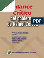 Balance Crítico Del Gobierno de Rafael Correo