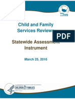 Assessment of Oregon Child Welfare System