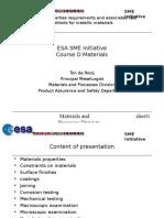 Sme1- Metallic Materials