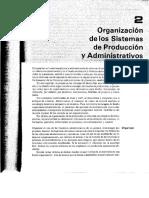 Organizacion de Los Sistemas de Producción Administrativos.