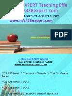 HCS 438 EXPERT Teaching Effectively/hcs438expert.com