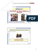 Modulo I - Residencia de Obras (Parte 1)
