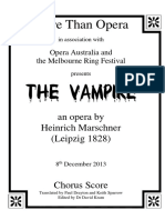 The Vampire Title Page