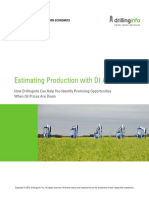 Estimating Production With DI Analytics