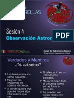 Curso Teorico Sesion 4 - Astronomia Observacional