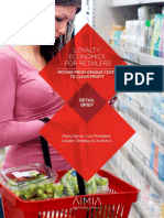 Loyalty Economics for Retailers