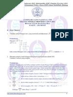 Soal & Pembahasan OSN SMP maTH Propinsi 2014 (Bagian B).pdf