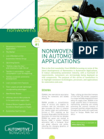 Edana Automotive Nonwovens Newsletter Issue June 2013