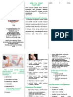 Leaflet Post Partum