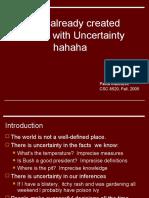 Uncertainty AI