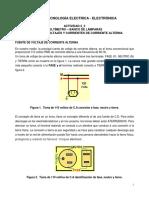 Multimetro BancoLamparas Mediciones CA TECNOLOGIA IEE UPB