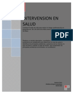 Intervension en Salud