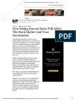 How Rising Interest Rates Will Affect the Stock Market and Your Investments - Forbes
