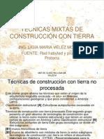TÉCNICAS MIXTAS DE CONSTRUCCIÓN CON TIERRA