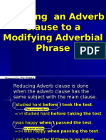 Reducing Adverb Clauses.ppt