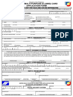 SSSForms UMID Application